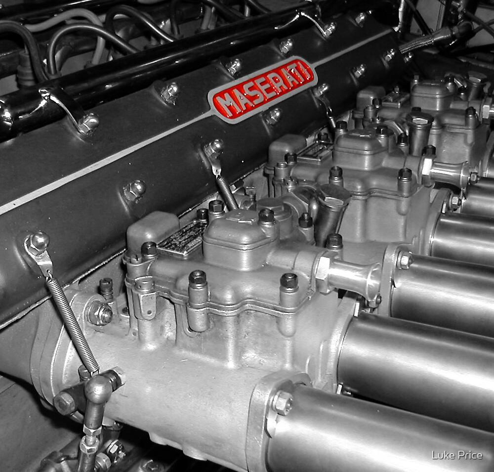 Maserati 250F  by Luke Price