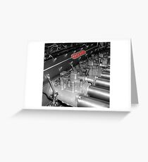 Maserati 250F  Greeting Card
