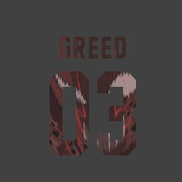 Greed jersey #03 by Aaronoftheyear