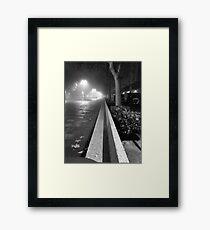 Palencia B&W Framed Print