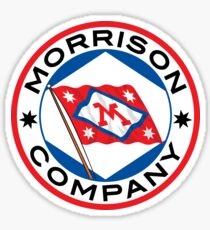 Morrison Co. Round Label Sticker