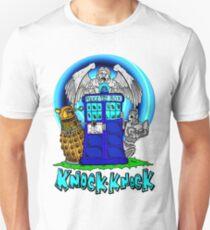 Doctor Who Knock Knock on the Tardis Unisex T-Shirt