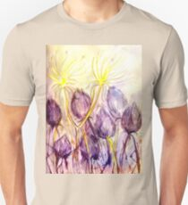 Dandelions In the Wind T-Shirt