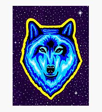 Space Wolf Photographic Print