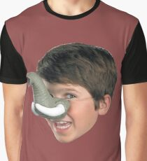 Elephant Boy Graphic T-Shirt