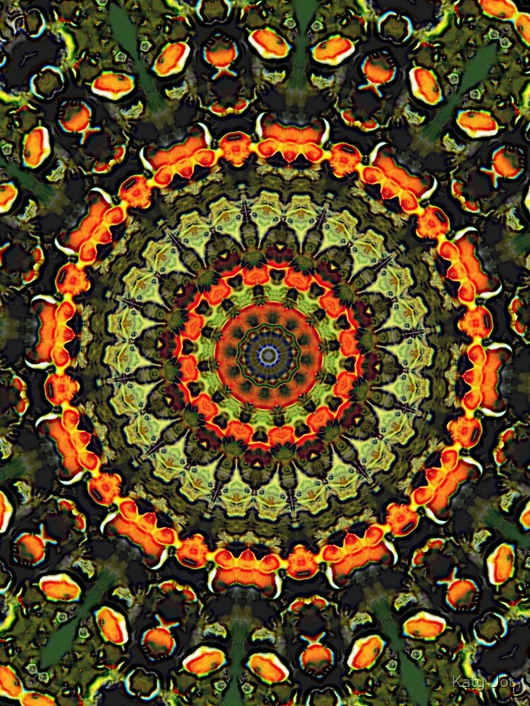 Citrus Infused Mandala by LouisaCatharine