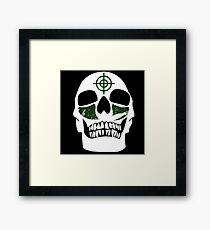 Skull Paint // GHD Framed Print