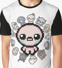The Binding of Isaac, circle of characters Graphic T-Shirt