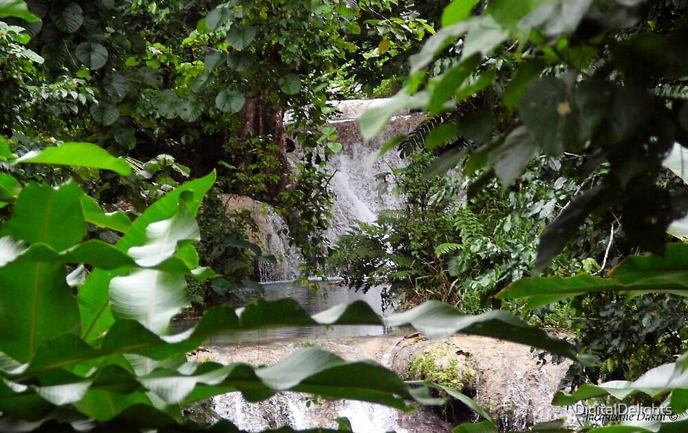 Mele Falls - Vanuatu by DigitalDelights