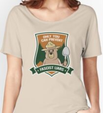 Only you can prevent fascist liars Women's Relaxed Fit T-Shirt