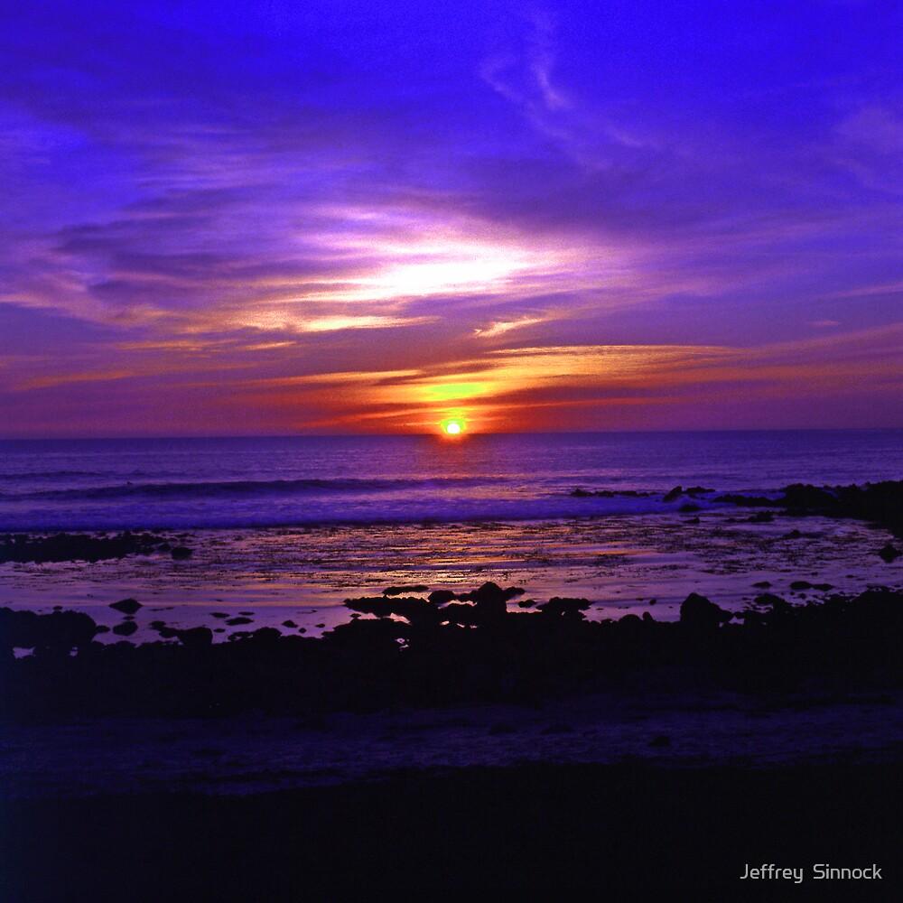 Monterey california sunset by Jeffrey  Sinnock