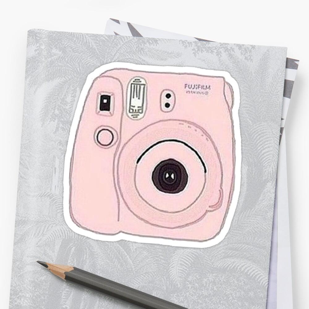 Pegatinacámara Polaroid Delante