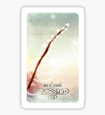 Ariescapes Tarot - Ace of Wands Sticker