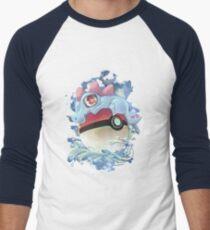 Totocute Men's Baseball ¾ T-Shirt