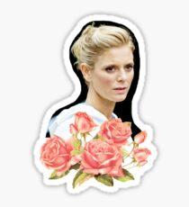Emilia Fox - Roses  Sticker