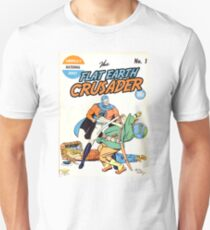 Flat Earth Crusader Great Design (Flat Earth) T-Shirt
