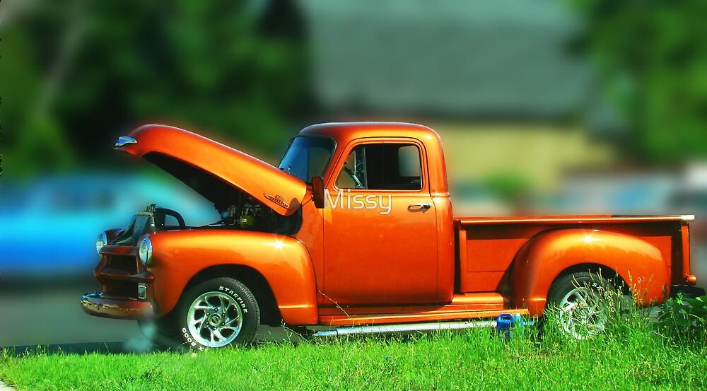 Vintage truck by Missy