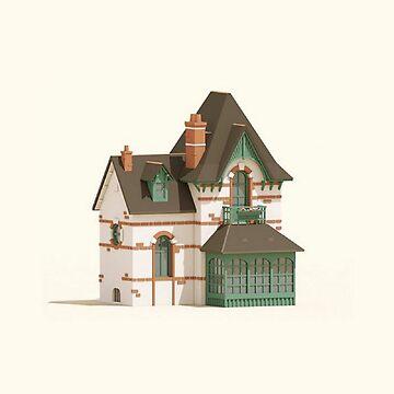 Cellar House Scene by studio21shop