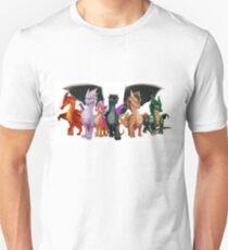 Wings of Fire - Jade Winglet Unisex T-Shirt