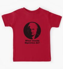 What Would Sipowcz Do? Kids Tee