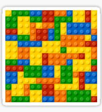 Building Blocks Construction Brick  Sticker