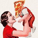 Pizza baby  by Sophie Moates