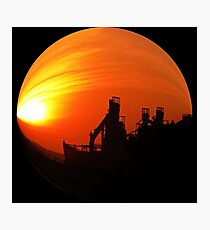 #189  The Industrial Bubble Photographic Print