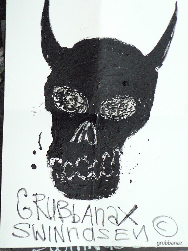 Black Skull by grubbanax