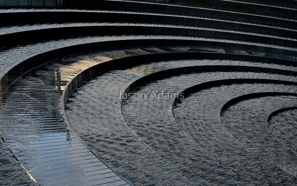 Curved Reflections 2 by Jason Adams
