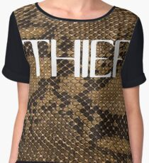 THIEF Women's Chiffon Top