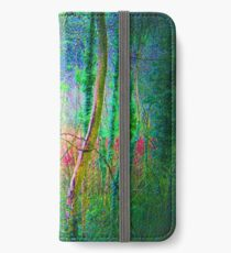 Woodland Coloured Layers - Stackpole Court, Pembrokeshire. iPhone Wallet/Case/Skin