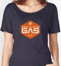 Beratnas Gas Hexagon Women's Relaxed Fit T-Shirt