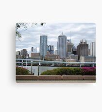 Brisbane Canvas Print
