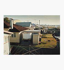 Backyards of Kempsey Photographic Print