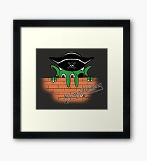 Pirates in the Caribbean Framed Print