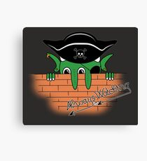 Pirates in the Caribbean Canvas Print