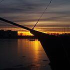 February sunset by Bluesrose