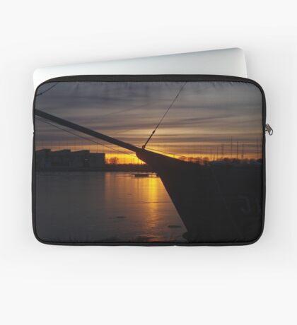 February sunset Laptop Sleeve