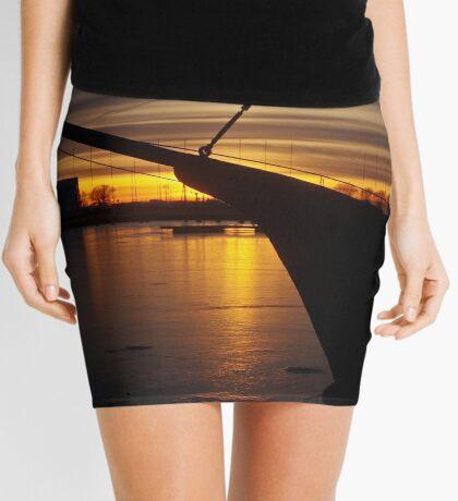 February sunset Mini Skirt