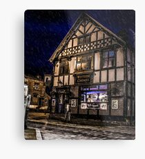 Northwich at night 14 Metal Print