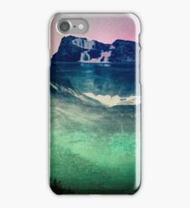 Mountains Forest and Waterfall - Cascadia Night iPhone Case/Skin