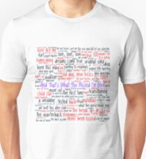 And That's What You Missed On Glee - Episodes Unisex T-Shirt