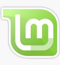 Pegatina Linux Mint