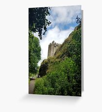 Blarney Castle and Caves Greeting Card