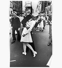 V-J Day in Times Square Poster