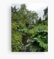 Blarney Castle Gardens Canvas Print
