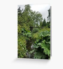 Blarney Castle Gardens Greeting Card