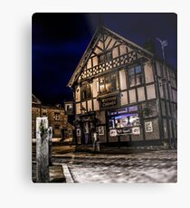 Northwich at night 15 Metal Print