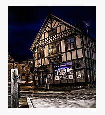 Northwich at night 15 Photographic Print