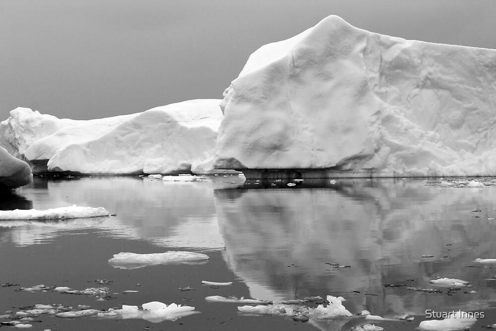 reflecting iceberg by Stuart Innes